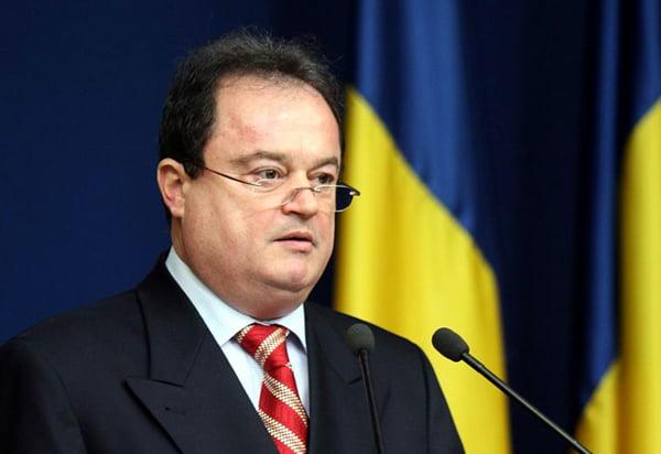 Vasile Blaga, acuzat de DNA că a primit șpagă de 25 de miliarde de lei pentru PDL