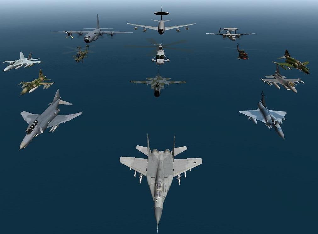 NATO e în alertă. Rusia a efectuat zboruri ilegale în Marea Neagră, Marea Baltică şi Marea Nordului