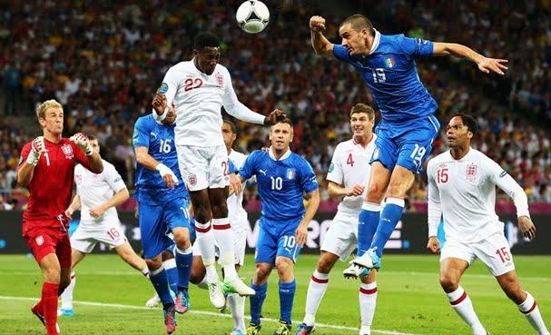 Euro 2012, Italia elimina Anglia dupa un meci dominat in totalitate de italieni