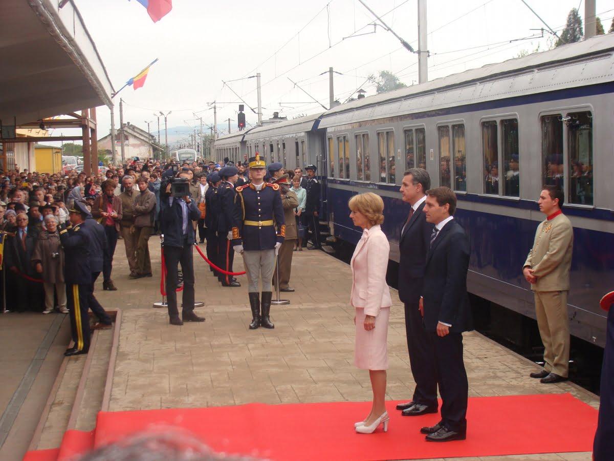 Pe 1 decembrie, de Ziua Națională, românii pot vizita Trenul Regal