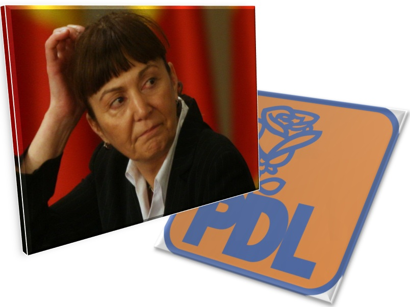 Monica Macovei și-a anunțat demisia din PDL