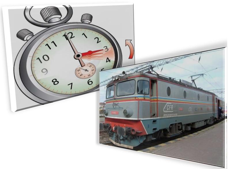 CFR Călători trece din 26 octombrie 2014, la ora de iarnă