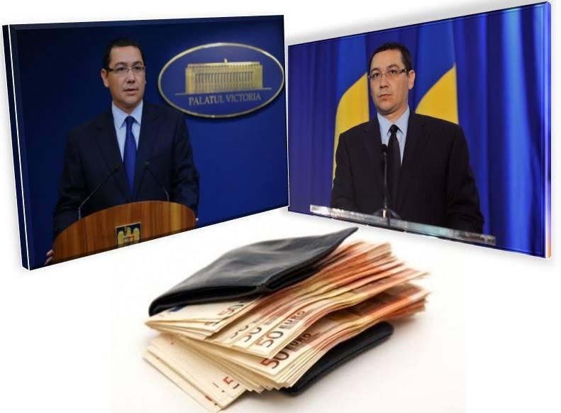 Guvernul Ponta susține reducerea taxei pe stâlp