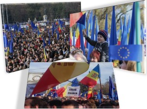 miting chisinau UE
