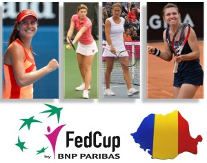 fed cup romania 2014