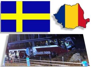 accident romani - suedia