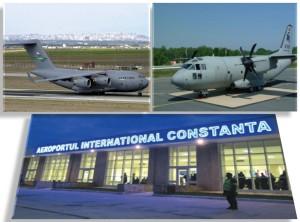 avion militar american - aeroport constanta
