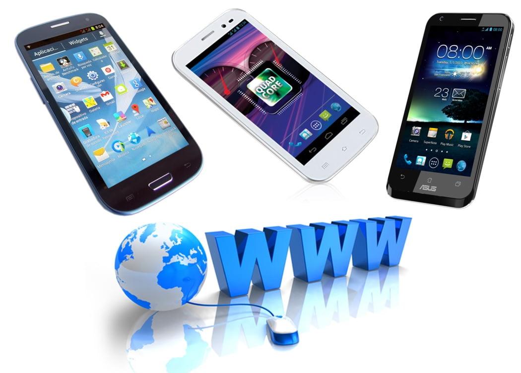 navigare internet pe telefon
