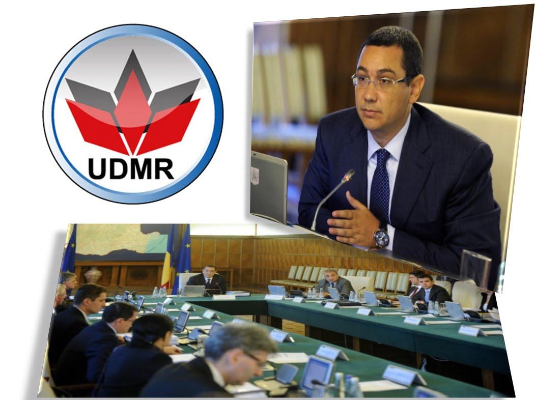 UDMR a decis să iasă din coaliția de guvernare
