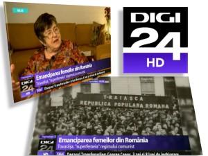 digi 24 - emanciparea femeii