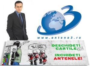mihai gadea - protest anti antena 3