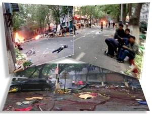 atentat china