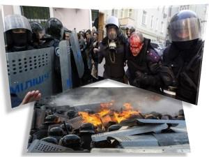 manifestanti prorusi - odesa