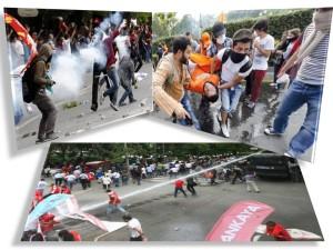 proteste violente turcia