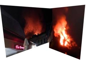 incendiu centrul vechi al capitalei