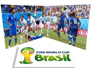 italia invinsa de uruguay la mondiale