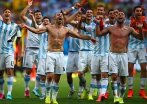 argentia - semifinale brazilia 2014