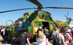 Un elicopter al Armatei Române a căzut la Baza Aeriană Boboc