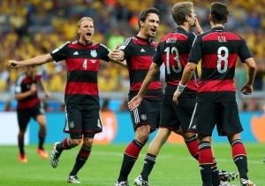 germania a invins brazilia