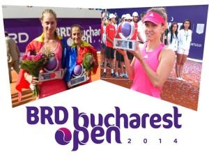 simona halep - alexandra cadantu - elena bogdan - brd bucharest open 2014
