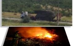 Avionul din Ucraina a fost doborât de ruși cu o rachetă militară