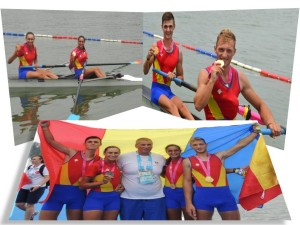 canotaj - romania - aur - olimpiada tineret nanjing