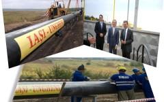 Gazoductul Iaşi-Ungheni, inaugurat de Ponta și Iurie Leancă de ziua Moldovei