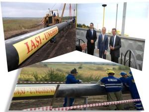 gazoduct iasi - ungheni