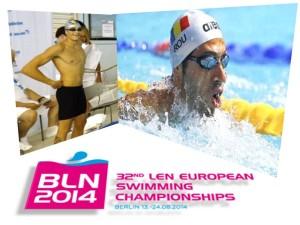 marius radu - europene natatie berlin 2014