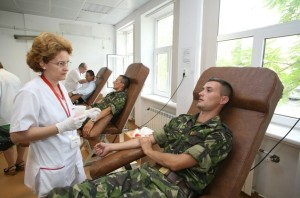 militari romani - donare sange