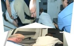 Fratele lui Băsescu a căzut în momentul în care se urca în duba poliției – VIDEO