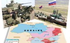Președintele Ucrainei susține că tancurile rusești au distrus toate casele în orașul Novosvitlivka