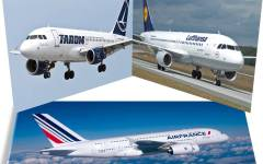 Greva de la Air France, Tarom și Lufthansa paralizează traficul aerian în Europa