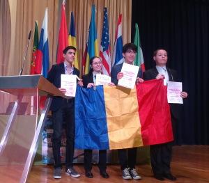 elevi romani olimpiada internationala stiinte ale pamantului