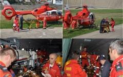 Românii răniți în accidentul de autocar din Bulgaria, aduși în țară cu elicopterul