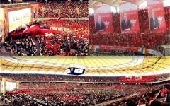Ponta, lansat în cursa prezidențială, într-un show grandios pe model occidental