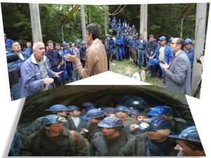 protest mineri baita