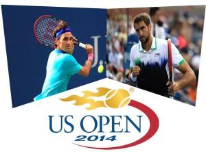 roger federer - marin cilic - us open 2014