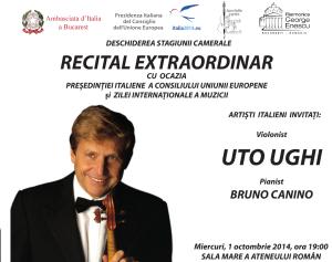 uto ughi - concert ateneul roman