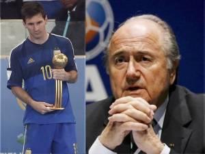 Joseph Blatter - messi