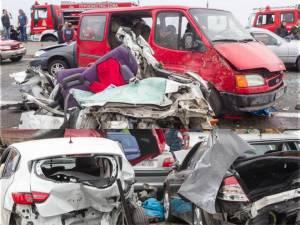 accident autostrada grecia -roman