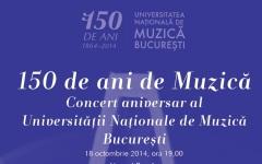 Concert extraordinar la Ateneu, prilejuit de aniversarea a 150 de ani a Universității de Muzică București