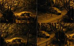De Ziua Regelui Mihai I, în București ninge ca-n povești