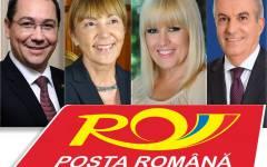 Ponta, Udrea, Macovei și Tăriceanu au apelat la Poșta Română pentru a-și face campanie electorală