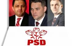 Șova, Vanghelie și Ghiță, suspendați din funcțiile deținute în PSD