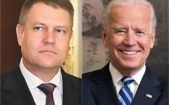 Klaus Iohannis a fost felicitat telefonic de vicepreședintele SUA Joseph Biden