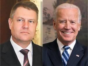 Joseph Biden - klaus iohannis