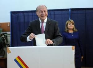 basescu - vot prezidentiale 2014