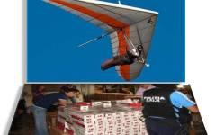 Doi moldoveni, arestați pentru că făceau trafic de țigări cu deltaplanul