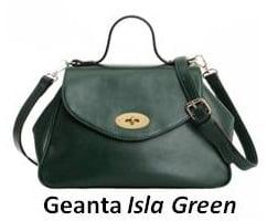 Geanta Isla Green